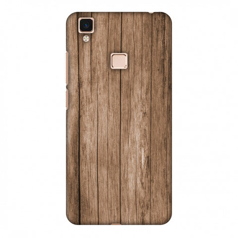 Walnut Wood Slim Hard Shell Case For Vivo V3 Max