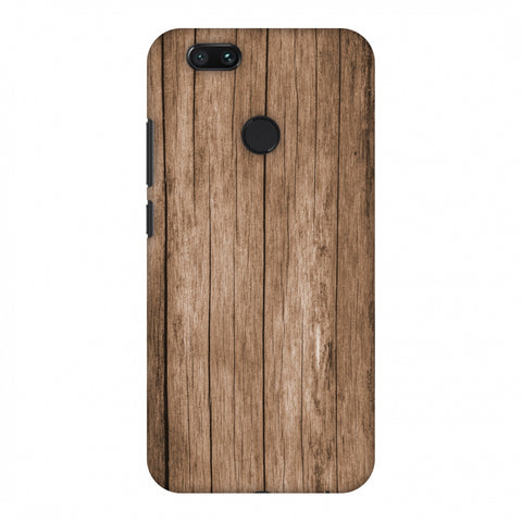 Walnut Wood Slim Hard Shell Case For Xiaomi MI A1-5X