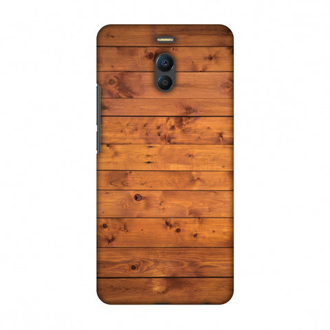 Honey Wood Slim Hard Shell Case For Meizu Note 6