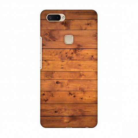 Honey Wood Slim Hard Shell Case For Vivo X20 Plus