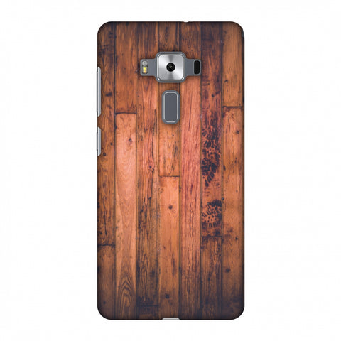 Rusty Wood Slim Hard Shell Case For Asus Zenfone 3 Deluxe ZS570KL