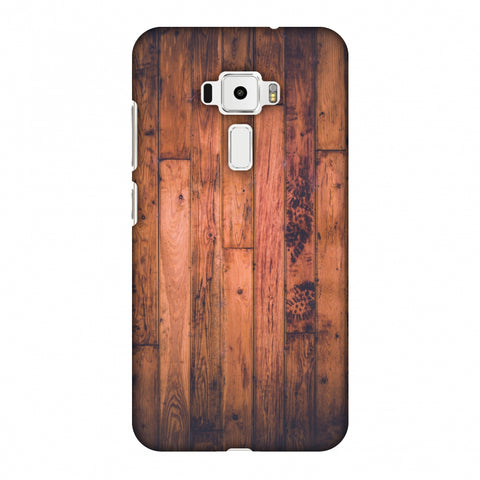 Rusty Wood Slim Hard Shell Case For Asus Zenfone 3 ZE520KL