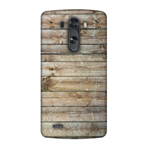 Real Wood Slim Hard Shell Case For LG G4