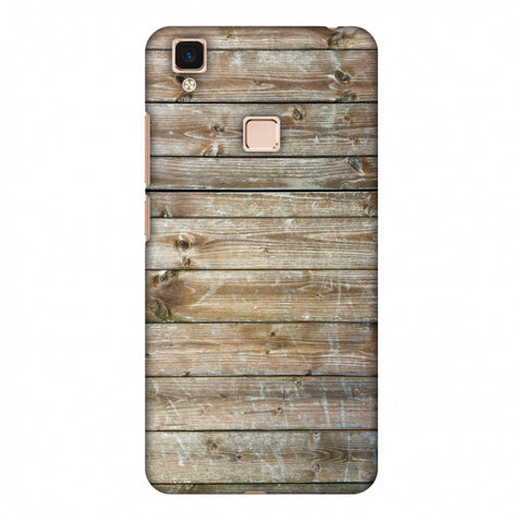 Real Wood Slim Hard Shell Case For Vivo V3 Max
