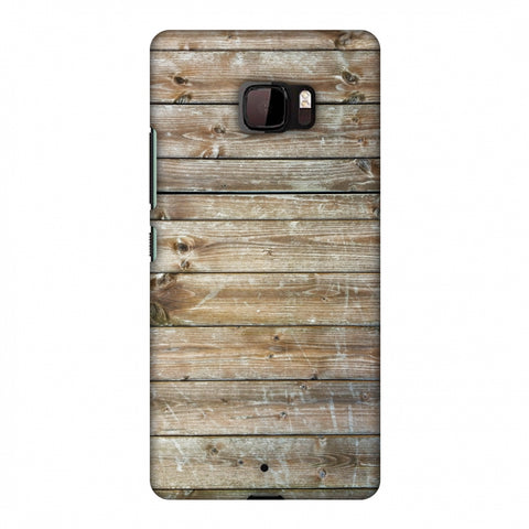 Real Wood Slim Hard Shell Case For HTC U Ultra