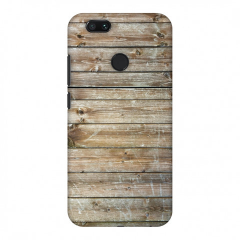 Real Wood Slim Hard Shell Case For Xiaomi MI A1-5X