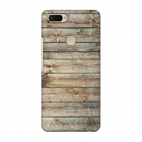 Real Wood Slim Hard Shell Case For Vivo X20 Plus