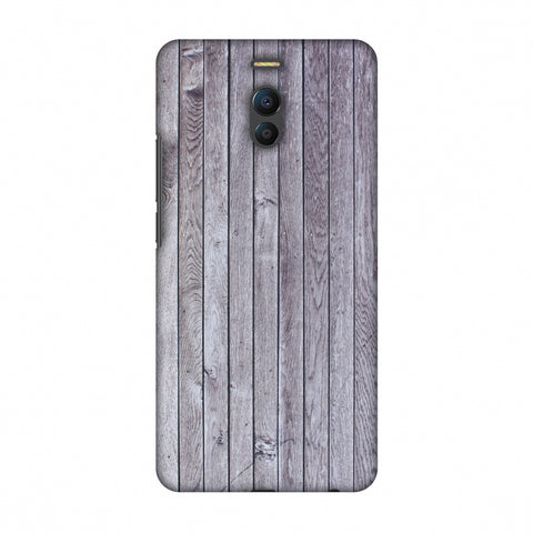 Grey Wood Slim Hard Shell Case For Meizu Note 6