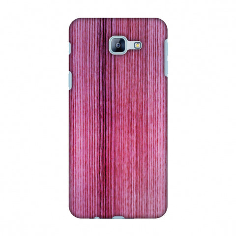 Pink Wood Slim Hard Shell Case For Samsung Galaxy A8 2016