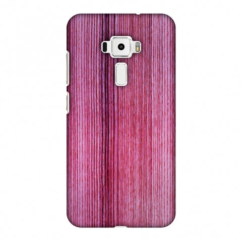 Pink Wood Slim Hard Shell Case For Asus Zenfone 3 ZE520KL