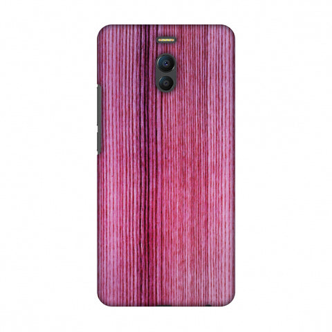 Pink Wood Slim Hard Shell Case For Meizu Note 6