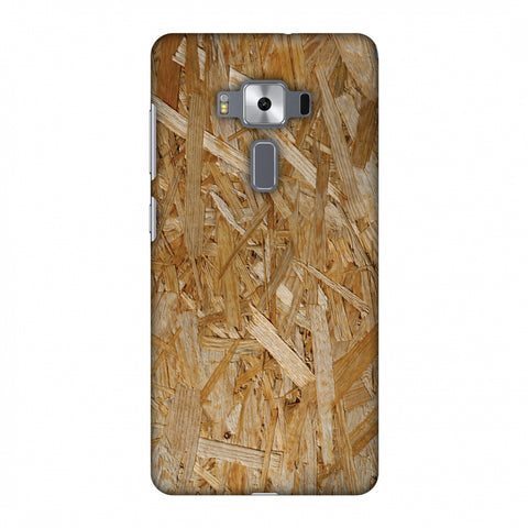 Chipboard Wood Slim Hard Shell Case For Asus Zenfone 3 Deluxe ZS570KL