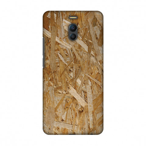 Chipboard Wood Slim Hard Shell Case For Meizu Note 6