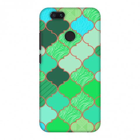 Stained Glass - American Green Slim Hard Shell Case For Xiaomi MI A1-5X