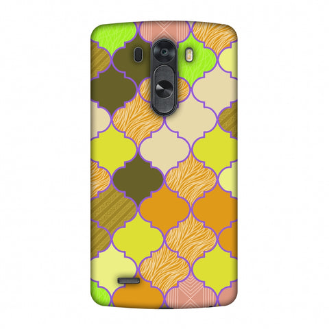 Stained Glass - Chocolate Orange Slim Hard Shell Case For LG G4