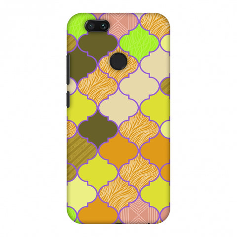 Stained Glass - Chocolate Orange Slim Hard Shell Case For Xiaomi MI A1-5X