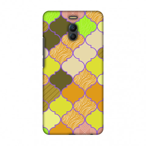 Stained Glass - Chocolate Orange Slim Hard Shell Case For Meizu Note 6