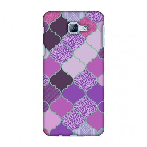 Stained Glass - Lavender Slim Hard Shell Case For Samsung Galaxy A8 2016