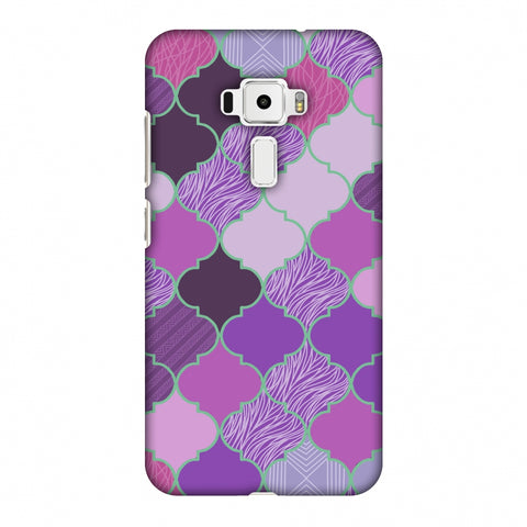 Stained Glass - Lavender Slim Hard Shell Case For Asus Zenfone 3 ZE520KL