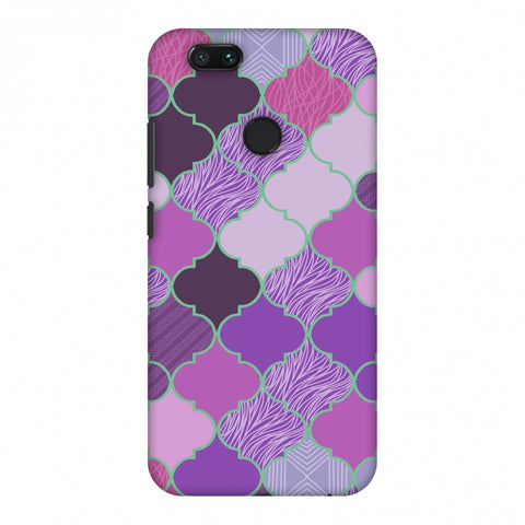 Stained Glass - Lavender Slim Hard Shell Case For Xiaomi MI A1-5X