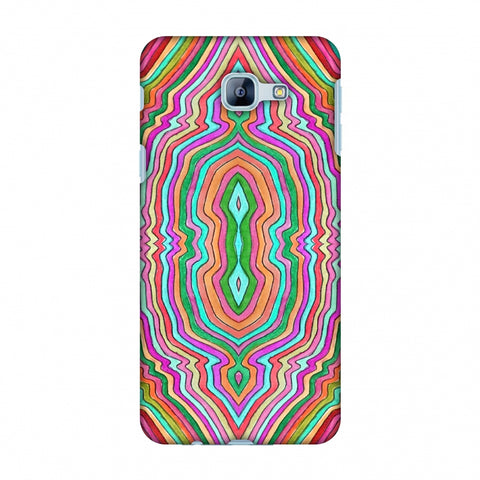 Psychedelic Waters - Dark Red Slim Hard Shell Case For Samsung Galaxy A8 2016