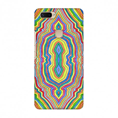 Psychedelic Waters - Warm Yellow Slim Hard Shell Case For Vivo X20 Plus