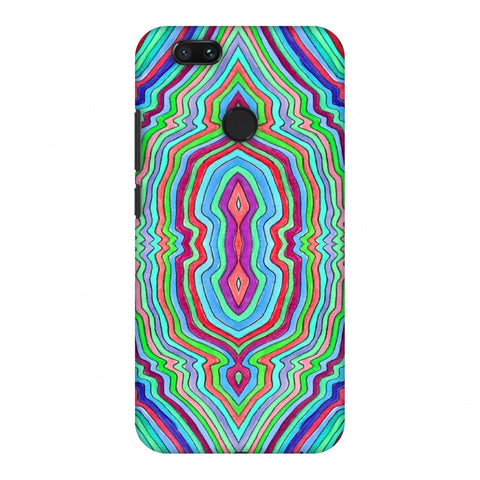 Psychedelic Waters - Cool Blues Slim Hard Shell Case For Xiaomi MI A1-5X