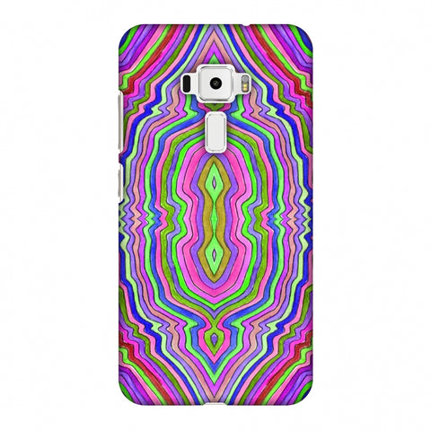 Psychedelic Waters - Pop Pink Slim Hard Shell Case For Asus Zenfone 3 ZE520KL