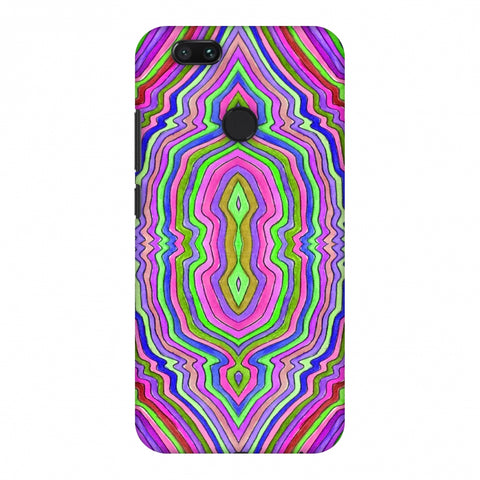 Psychedelic Waters - Pop Pink Slim Hard Shell Case For Xiaomi MI A1-5X