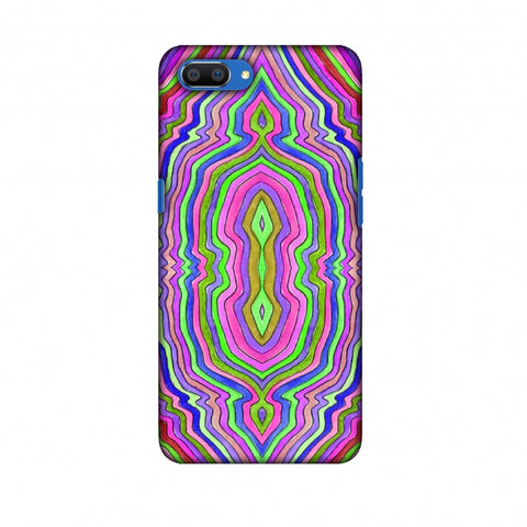 Psychedelic Waters - Pop Pink Slim Hard Shell Case For Oppo Realme C1