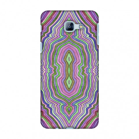Psychedelic Waters - Saturated Violet Slim Hard Shell Case For Samsung Galaxy A8 2016