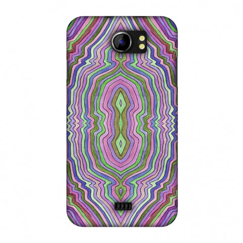 Psychedelic Waters - Saturated Violet Slim Hard Shell Case For Micromax Canvas 2 A110