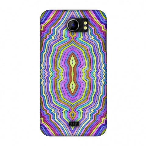 Psychedelic Waters - IncAndescent Purple Slim Hard Shell Case For Micromax Canvas 2 A110