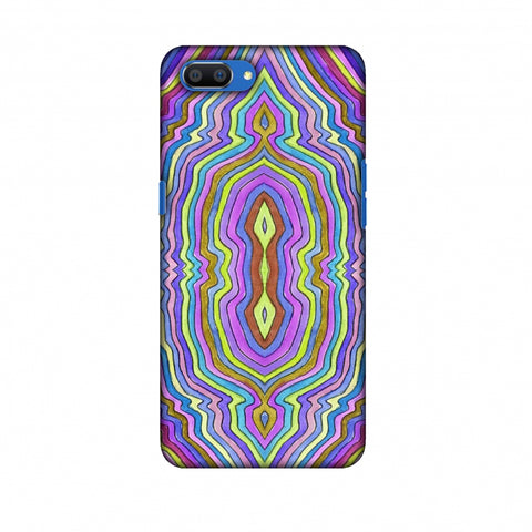 Psychedelic Waters - IncAndescent Purple Slim Hard Shell Case For Oppo Realme C1