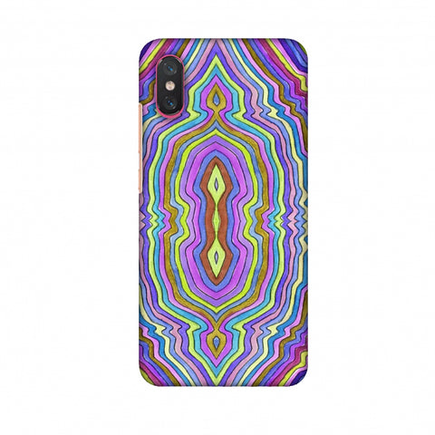 Psychedelic Waters - IncAndescent Purple Slim Hard Shell Case For Xiaomi Mi 8 Pro