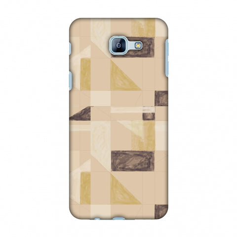 Sooty Pastels - Beige And Brown Slim Hard Shell Case For Samsung Galaxy A8 2016