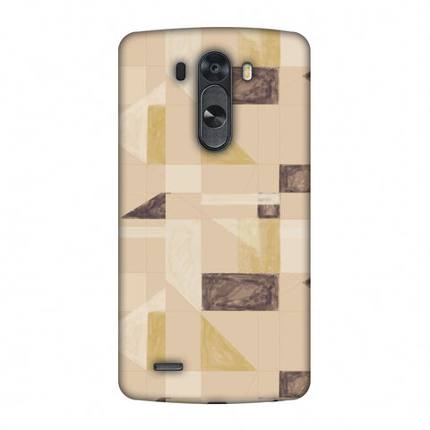 Sooty Pastels - Beige And Brown Slim Hard Shell Case For LG G4