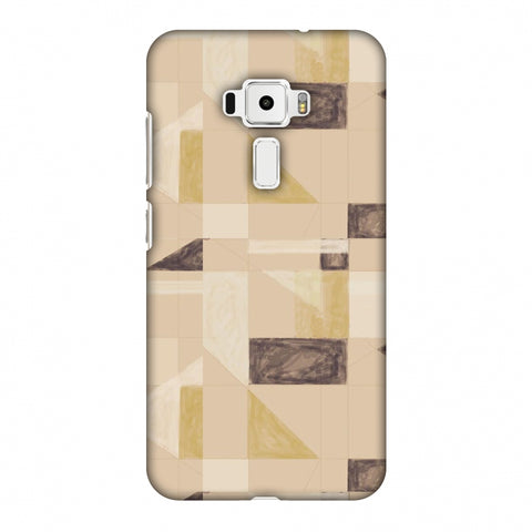 Sooty Pastels - Beige And Brown Slim Hard Shell Case For Asus Zenfone 3 ZE520KL