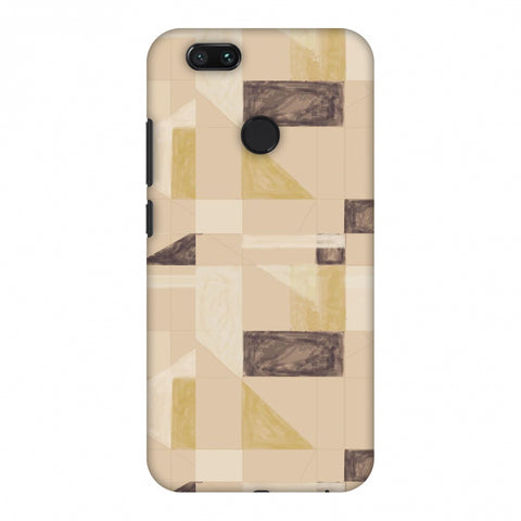 Sooty Pastels - Beige And Brown Slim Hard Shell Case For Xiaomi MI A1-5X
