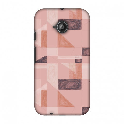 Sooty Pastels - Saturated Pink Slim Hard Shell Case For Motorola Moto E 2nd Gen