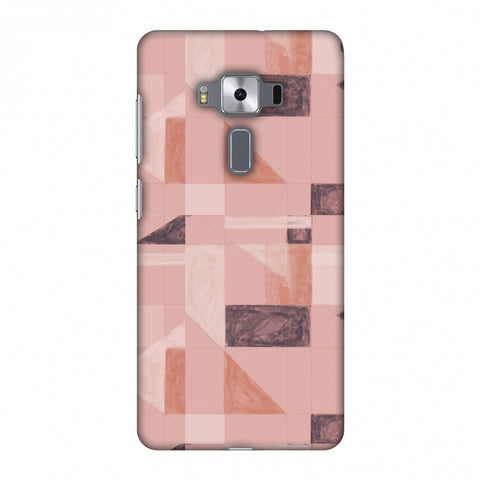 Sooty Pastels - Saturated Pink Slim Hard Shell Case For Asus Zenfone 3 Deluxe ZS570KL