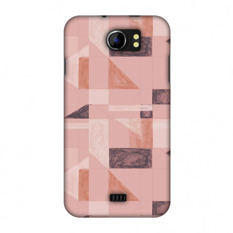 Sooty Pastels - Saturated Pink Slim Hard Shell Case For Micromax Canvas 2 A110