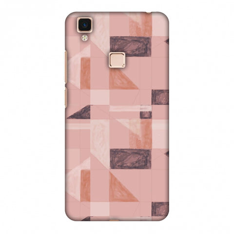 Sooty Pastels - Saturated Pink Slim Hard Shell Case For Vivo V3 Max