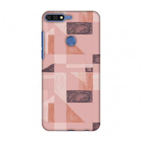 Sooty Pastels - Saturated Pink Slim Hard Shell Case For Huawei Honor 7C