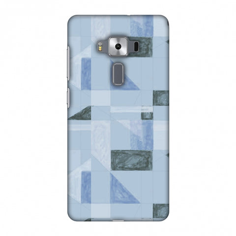 Sooty Pastels - Crystal Blue Slim Hard Shell Case For Asus Zenfone 3 Deluxe ZS570KL