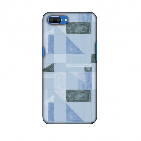 Sooty Pastels - Crystal Blue Slim Hard Shell Case For Oppo Realme C1