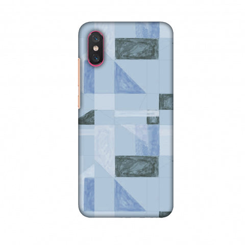 Sooty Pastels - Crystal Blue Slim Hard Shell Case For Xiaomi Mi 8 Pro