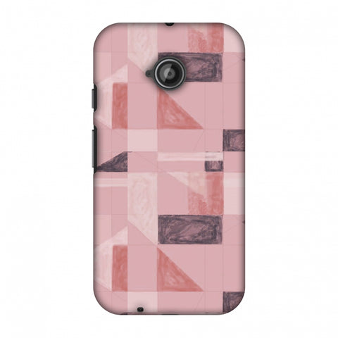 Sooty Pastels - Coral Slim Hard Shell Case For Motorola Moto E 2nd Gen