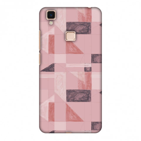 Sooty Pastels - Coral Slim Hard Shell Case For Vivo V3 Max