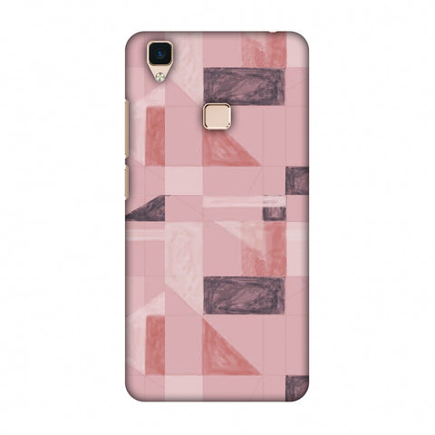 Sooty Pastels - Coral Slim Hard Shell Case For Vivo V3